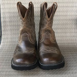Ariat FatBaby Leather Brown Boot 14729